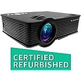 (CERTIFIED REFURBISHED) EGATE i9 LED HD Projector (Black) HD 1920 x 1080 - 120-inch Display