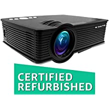 (CERTIFIED REFURBISHED) EGATE i9 LED HD Projector (Black) HD 1920 x 1080 - 120-inch Display
