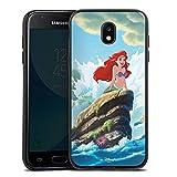 Samsung Galaxy J3 2017 Silikon Hülle Case Schutzhülle Disney Arielle Die Meerjungfrau Geschenke Merchandise
