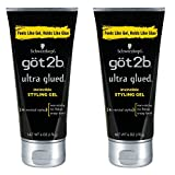 Got2b Ultra Glued Invincible Styling Gel, 6-Ounce by Got2b