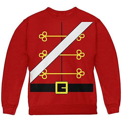 Old Glory Weihnachten Spielzeug Soldat Nussknacker Kostüm Jugend Sweatshirt rot YSM