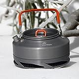 Fire-Maple Wasserkocher Teekanne Kaffeekanne aus eloxiertem Aluminium mit Wärmeaustauschsystem 0,9L XT1 -