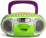 BLAUPUNKT Boombox 11 (Vers. 2017) tragbares CD-Radio mit Kassettenplayer (LED-Display, Backlight, 2x 2,2 Watt RMS, UKW-Tuner) multicolor