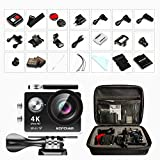 4K Action Cam, GooBang Doo Caméra d'Action Sport 4K Ultra HD...