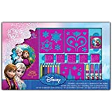 Arditex - 066376 - colorear Disney - Set Para plantillas y Pads - La Reine des Neiges - Frozen
