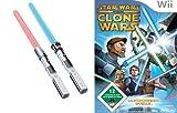 Star Wars The Clone Wars: Lichtschwert-Duelle + 2 Lichtschwerter (Wii)