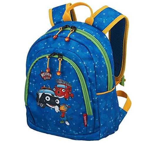 Travelite Robuste, fröhliche Kinderkoffer und Gepäckstücke Helden der Stadt machen jede Reise zum Abenteuer Kindergepäck, 5.5 Liter, Marine