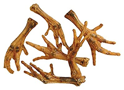 40 X High Quality Dried Natural Chicken Feet by Fadulla