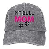 Kotdeqay Trucker Baseball Hat Pit Bull Mom Polo Cowboy Caps Unisex 32268
