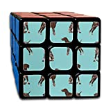 German Shorthaired Pointer Fabric Dogs Pets and Dog Fabric_397 3x3 Magic Speed Cube Smooth Speed Magic Rubik Cube Puzzles Toys