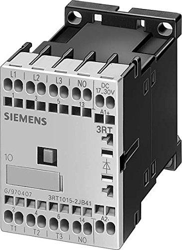 SIEMENS SIRIUS - CONTACTOR AC-3 3KW 1NC CORRIENTE CONTINUA 12V 3 POLOS TAMAñO S00 RESORTE