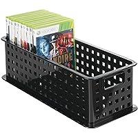 mDesign la boîte de rangement pour cd – le panier de rangement idéal pour  vos CDs 1e88c23108c