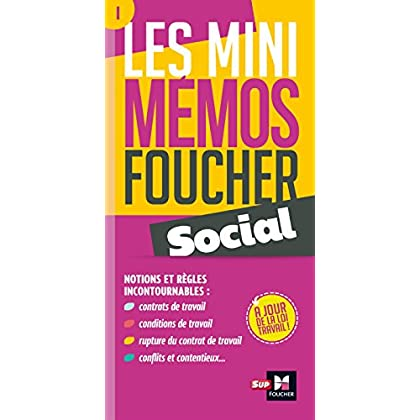 Les mini memos Foucher - Social