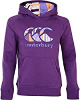 Canterbury Girl's Uglies Over The Head Hoody - Purple Magic/Orange Pop/Purple Hebe, Size 12