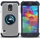 RenCase / Hybrid Hülle Tasche Schutzhülle Case Defender Shell / I had Fun Once Funny Cat / Samsung Galaxy S5 V SM-G900