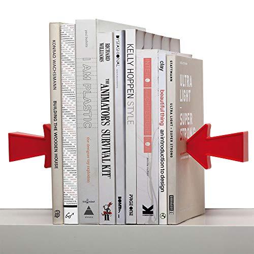 Baojintao Estantería Libros Flecha roja Librería