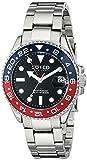 SO&CO Yacht Club Men's 40mm Steel Bracelet Metal Case Mineral Glass Watch 5021.2