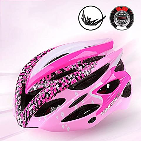 213g Poids ultra léger -Premium Quality Airflow Bike Helmet profession pour Road & Mountain Biking - Casques de vélo certifiés de sécurité pour hommes et femmes adultes, adolescents garçons et filles - chapeau démontable, avec feux arrière