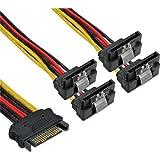 InLine® 29683V SATA Strom-Y-Kabel