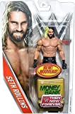 SETH ROLLINS W/ MONEY IN THE BANK GOLD BRIEFCASE GOLD BASIC SERIES FIGURE - BRAND NEW
