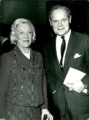 Fotomax Vintage Photo of Douglas Bader, British Aircraft Pilot During World War II with his Second Wife Joan Murray