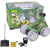 Ben10 Car With Remote Control Game - 3 Years & Above