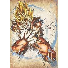 "Poster Dragon Ball ""Wanted"" Goku SSJ - A3 (42x30 cm)"