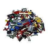 500 Teile Lego Steine bunt gemischt 0,70 kg z.B. Räder Platten Fenster etc. k8