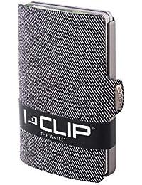 I-CLIP Geldbörse Robutense Jeans-Optik (in 2 Farben erhältlich)