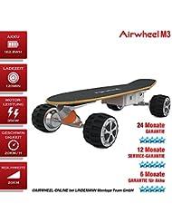 Eléctrico scate tarjeta Airwheel M3batería 162.8WH Negro