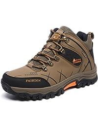 Eagsouni® Trekking Wanderschuhe Wanderstiefel Sports Outdoor Wanderhalbschuhe Wasserdicht Wander Schuhe für Herren Damen 39-47