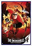 Close Up The Incredibles Poster Expect The Incredible (94x63,5 cm) gerahmt in: Rahmen blau