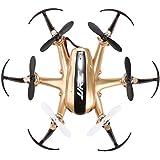 JJRC H20 2.4G 4CH 6-Axis Giroscopio Nano Hexacopter RTF Quadcopter Drone (Oro)