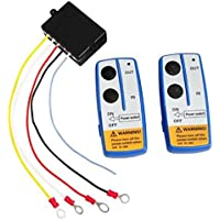 - Herramienta para cabrestante, control remoto inalámbrico, interruptor, 12V, para coche y camión