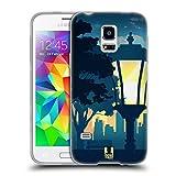 Head Case Designs Park Sonnenuntergang Sammlung Soft Gel Hülle für Samsung Galaxy S5 Mini