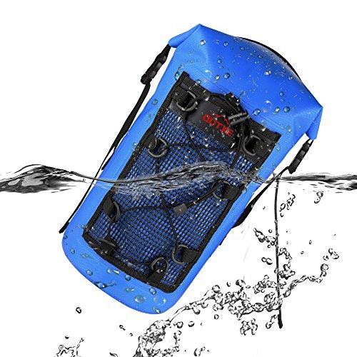 OUTXE 100% Wasserdichte Rucksack Packsack 10L TPU Dry Bag PVC-Frei