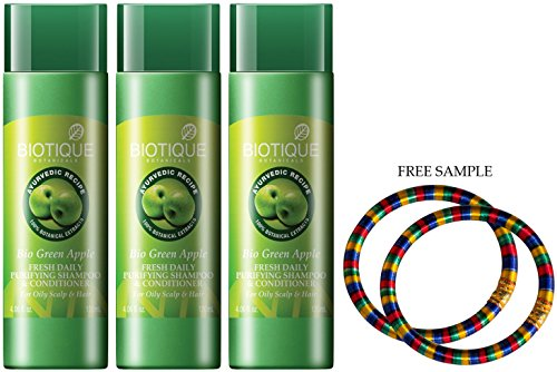 biotique-fresh-daily-purifying-shampoo-conditioner-green-apple-120ml-free-expedited-shipping-via-dhl