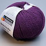 """50g """"Merino Extrafine Cotton 120"""" - Farbe: 549 - Violett"""