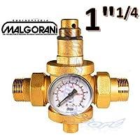 'Reductor de presión agua 11/4M-M con manómetro–Grifo malgorani