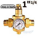 'Druckminderer für Wasser 11/4-M mit Manometer–Armatur malgorani