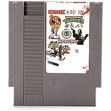 Rishil World 450 In 1 Super Game 72 Pin 8 Bit Game Card Cartridge For NES Nintendo