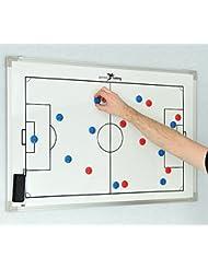PT doble cara Soccer tablero táctica de fútbol (30x 45cm