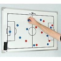 PT Double face Planche tactique de football de football 30x 45cm