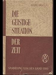 Die geistige Situation der Zeit (1931)