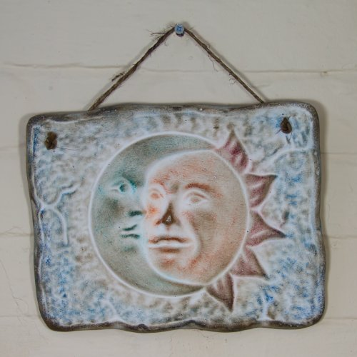 eclipse-sunflower-ceramic-plaque-for-wall-decoration-fair-trade-and-handmade-in-mexico-indoor-or-out