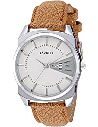 Laurels Lo-inc-201 Analog White Dial Men's Watch-Lo-Inc-201