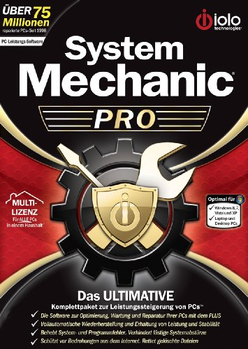 IOLO System Mechanic Professional (Windows 8 kompatibel) [Download]
