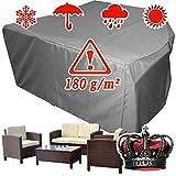 XINRO® winterfeste Luxus Gartenmöbel Lounge Möbel Set Schutzhülle Hülle Haube Plane Abdeckung Abdeckplane 146x146x80 cm