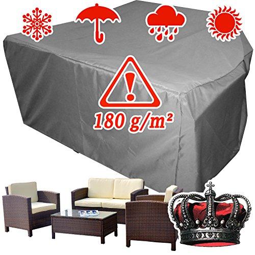 XINRO® winterfeste Gartenmöbel Lounge Möbel Set Schutzhülle Hülle Haube Plane Abdeckung Abdeckplane 146x146x80 cm
