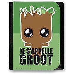 Cartera Baby Groot 'Je Se appelle Groot' Chibi y Kawaii Guardianes de la galaxia–Chamalow Shop